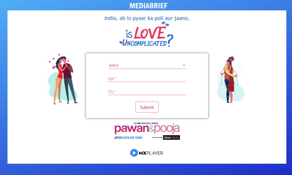 image-This Valentine's season, MX Player's integrated campaign #IsLoveComplicated reaches over 52 million Indians Mediabrief