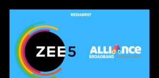 image-ZEE5 partners with Alliance Broadband to meet rising deamnd for OTT content in Eastern India Mediabrief