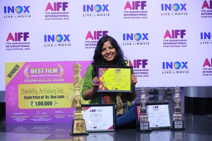 image-Maadathy wins big at the 7th Aurangabad International Film Festival Mediabrief