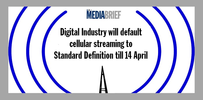 image-digital-industry to default streaming to cellular