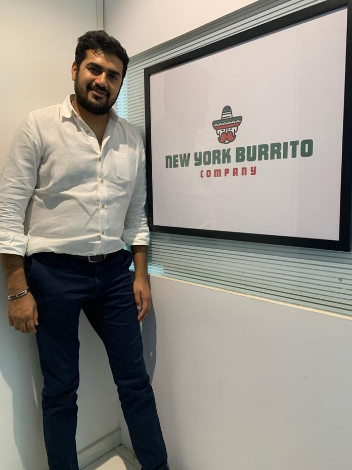 Senil Shah- Founder of New York Burrito Company