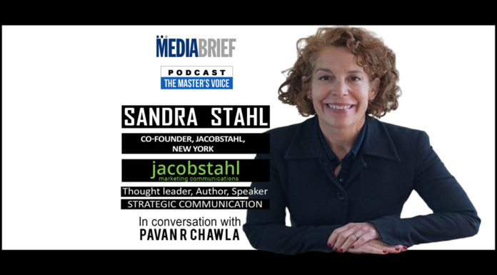 image-Sandra-Stahl-of-JacobStahl-New-York-On-The-Master's-Voice-Podcast-Series-MediaBrief-with-Pavan-R-Chawla
