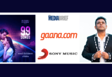 image-99 Songs marks the 23rd year of the AR Rahman-Sony Music India association Mediabrief
