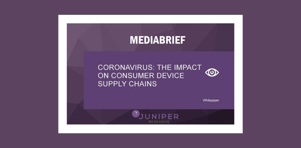 image-Coronavirus to cause $42 billion revenue gap in global consumer device shipments- Juniper Research Mediabrief