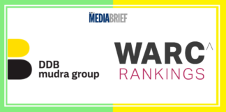 image-DDB Mudra Group in top 20 globally at WARC Effective 100 rankings Mediabrief