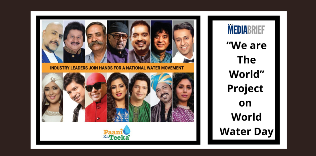 """image-Indian musicians unite for a """"We are The World"""" like project on World Water Day Mediabrief"""