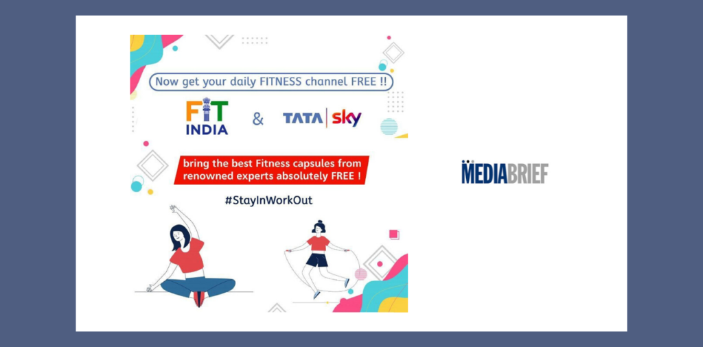 image-Kiren Rijiju recognizes free access to Tata Sky Fitness amid COVID-19 outbreak Mediabrief