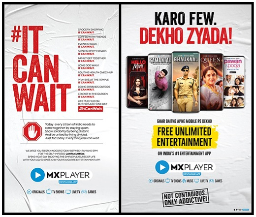 image-MXPlayer-Ad-to-Support-Janata-Curfew-MediaBrief-COAI story