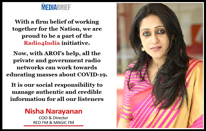image-Nisha-Narayanan-Blurb-RED FM COO -MediaBrief-WFH-and-Radio4India