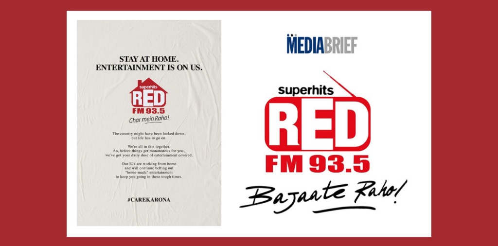 image-RED FM promises to supply unlimited entertainment while you stay-at-home Mediabrief