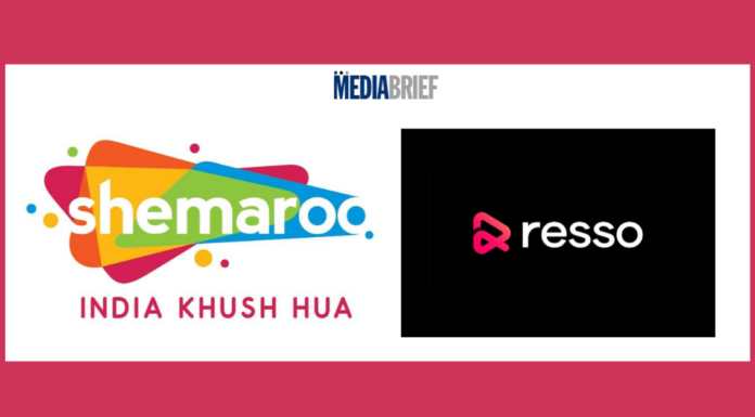 image-Shemaroo Entertainment and Resso enters into a strategic music licensing partnership Mediabrief