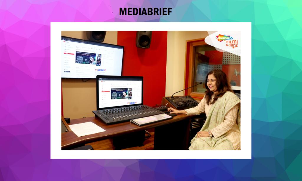 image-Shemaroo Filmi Gaane launched a special jukebox to celebrate the birthday of singer Sadhana Sargam Mediabrief
