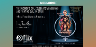 image-This International Women's Day - World Television Premiere of Charlie's Angel's on &flix Mediabrief