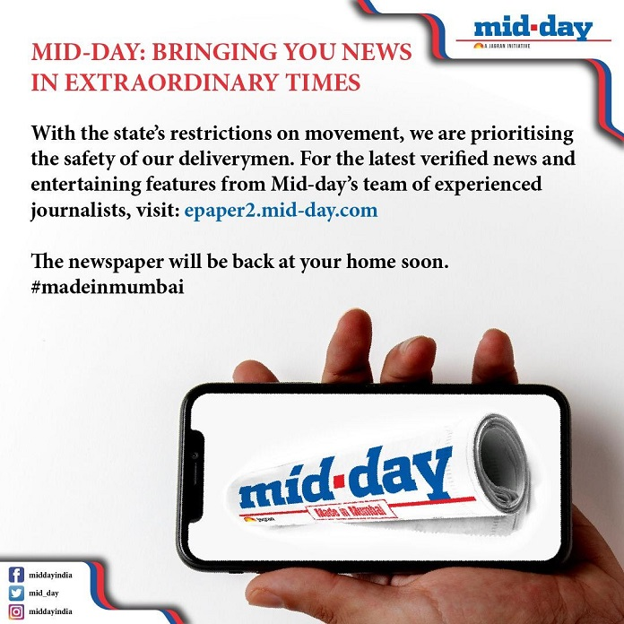 mid-day Finds Newer Ways To Reach Mumbaikars Amidst Temporary Disrupted Print Circulation