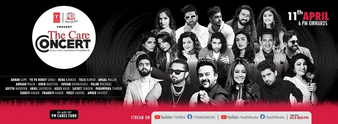 'The Care Concert' by T-Series and RED FM