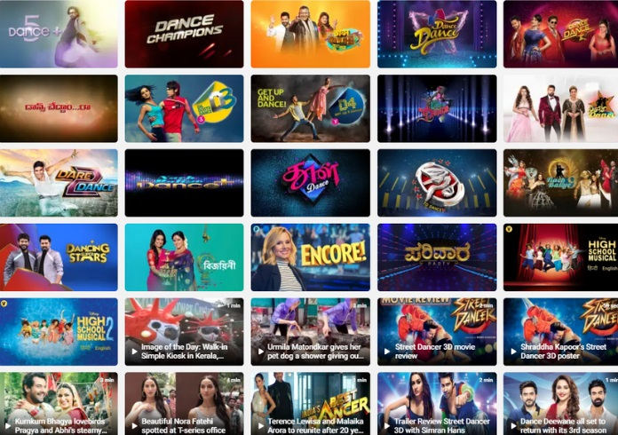 IMAGE- dance shows on disney+ hotstar-Mediabrief