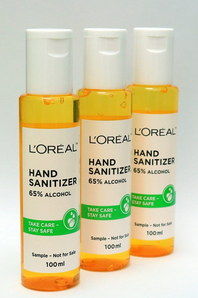 L'Oreal India Sanitizer