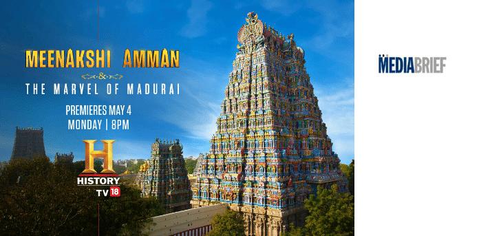 HistoryTV18 original 'Meenakshi Amman & The Marvel of Madurai' on Chithirai Festival