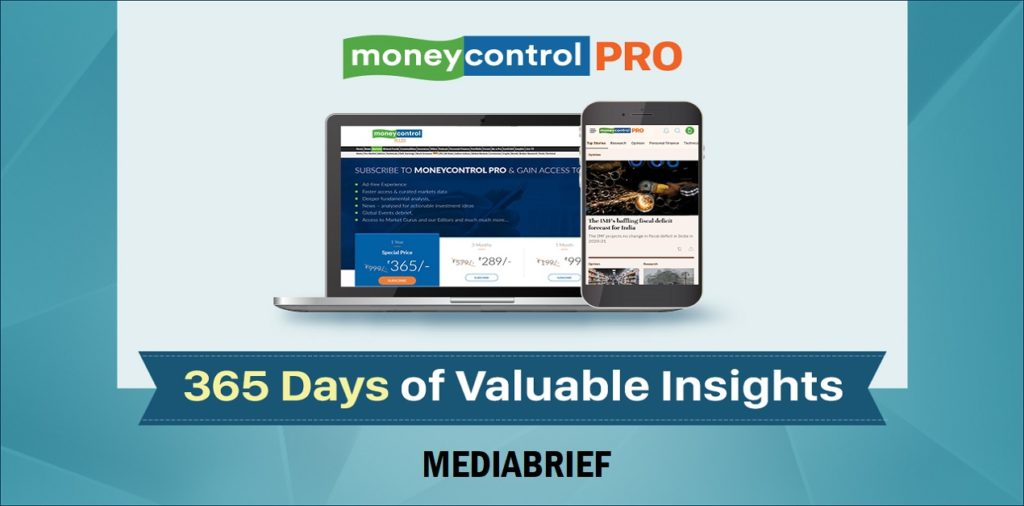 image-Moneycontrol Pro completes a year, aims to offer enhanced value to its subscribers Mediabrief