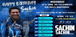 image-Star Sports celebrates birthday of Sachin, the God of Cricket Mediabrief