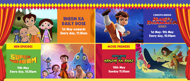 POGO prepares for May with 'Sun Sunny Bheem'