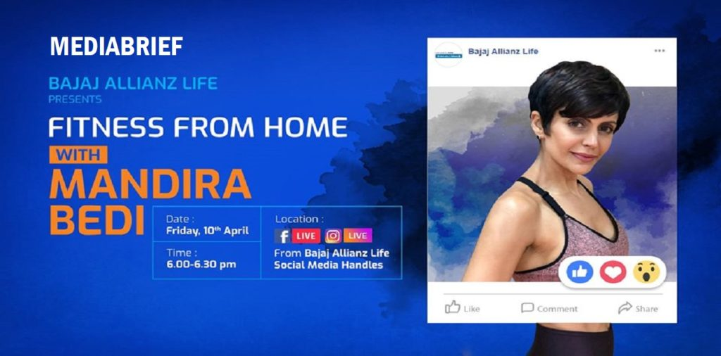 image-Bajaj Allianz Life rolls out unique Live Streaming Health Sessions to engage with customers amid COVID-19 Mediabrief
