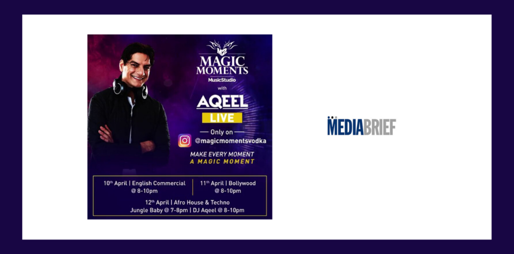 image-Moments Music Studio partners with DJ Aqeel for live musical performance online to beat the lockdown blues Mediabrief
