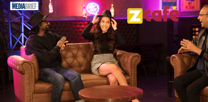 image Nora Fatehi and Remo on Zee Café's Starry Nights GEN Y