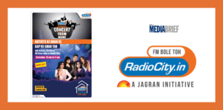image-Radio City's 'Concert From Home' features 100 plus artists over 30 days across 39 cities Mediabrief