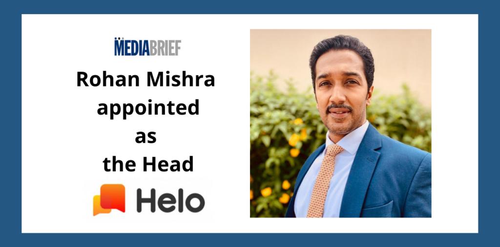 image-Rohan Mishra named Head of Helo in India Mediabrief