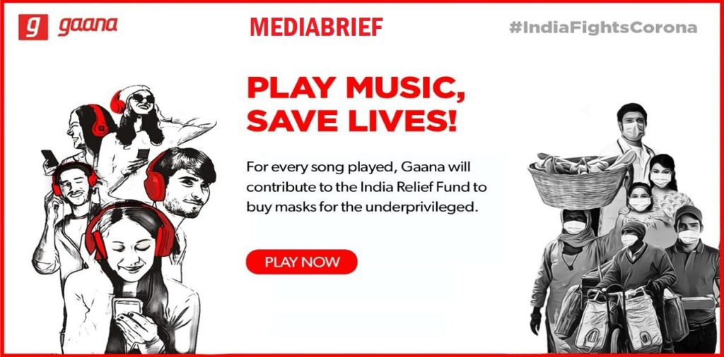 image-Safeguard vulnerable societies with face masks by streaming on Gaana Mediabrief