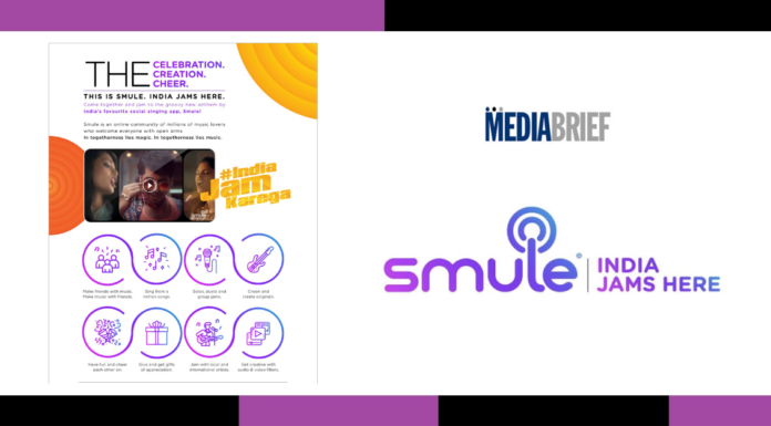 image-Smule's 'India Jam Karega' calls for unity over shared passion for music Mediabrief