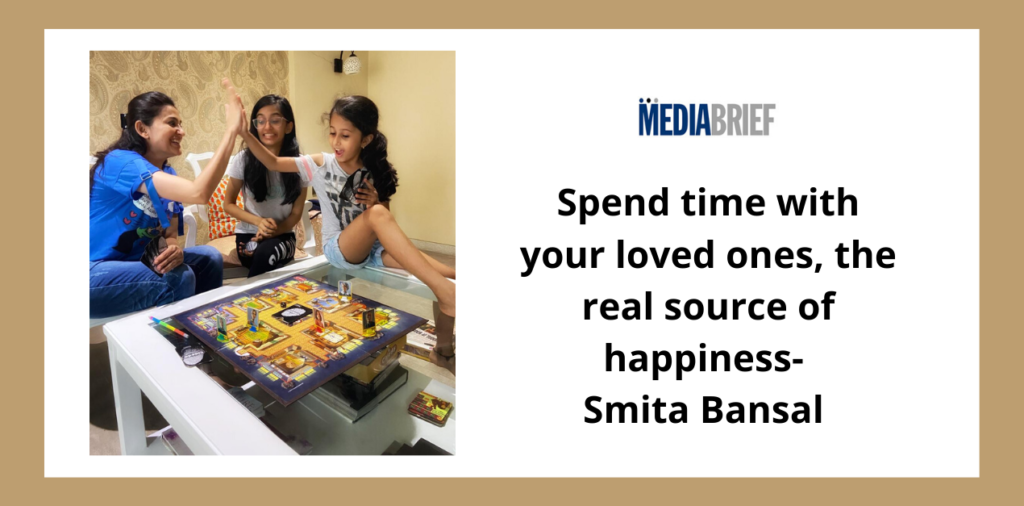 image-Spend time with your loved ones - the real source of happiness, says Smita Bansal of Sony SAB's Alladin... Mediabrief