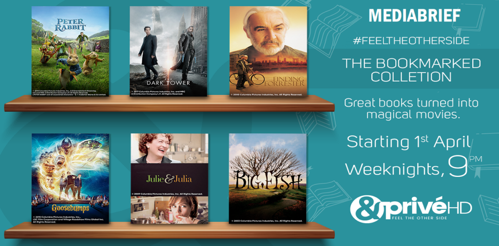 image-Witness your favourite stories come alive with 'The Bookmarked Collection' on &PrivéHD Mediabrief