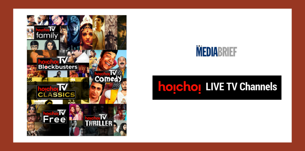 image-hoichoi live tv with free to air channels introduces hoichoi channels Mediabrief