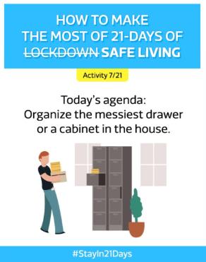 #Stayin21Days Activity- Flipkart