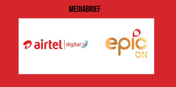 Airtel Digital TV has announced a content partnership with EPIC ON