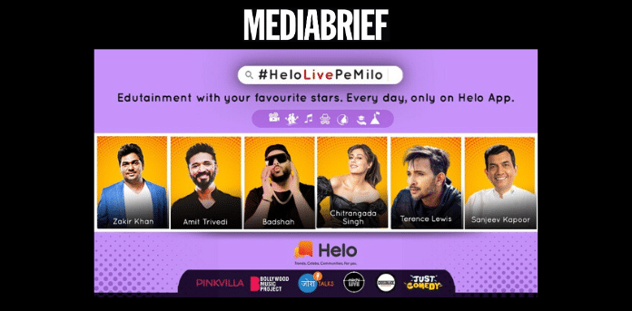 Helo's new in-app Edutainment property 'HeloLivePeMilo' for fun and learning