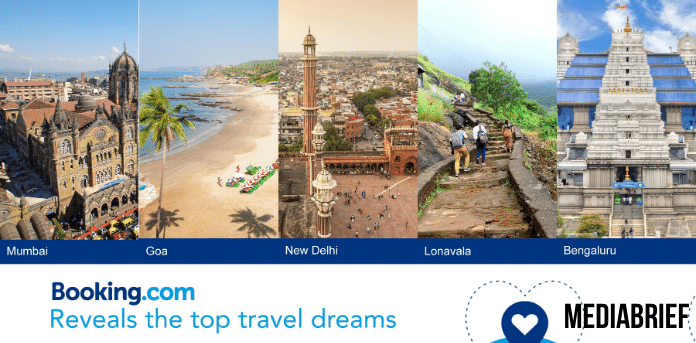 Booking.com reveals top travel dreams of a nation in waiting - Wish List campaign