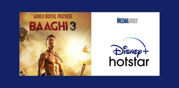 World Digital Premiere Baaghi 3 on Disney Hotstar VIP