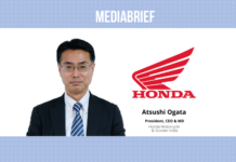 image-Atsushi Ogata is President CEO MD HMSI - other top management developments - MediaBrief