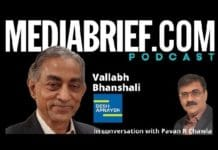image-episode 12-Vallabh Bhanshali of Desh Apnayen - on The masters voice podcast with Pavan R Chawla MediaBrief