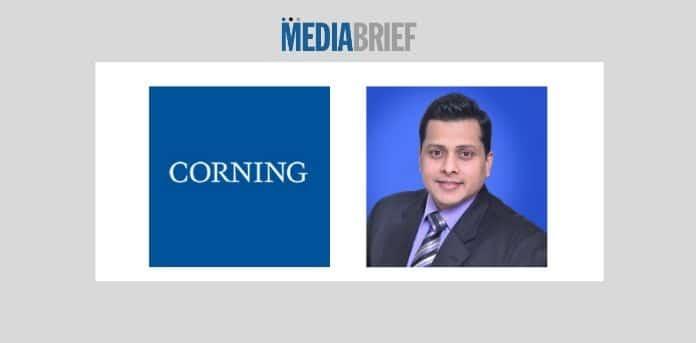 image-Sudhir Pillai named MD Corning India-MediaBrief