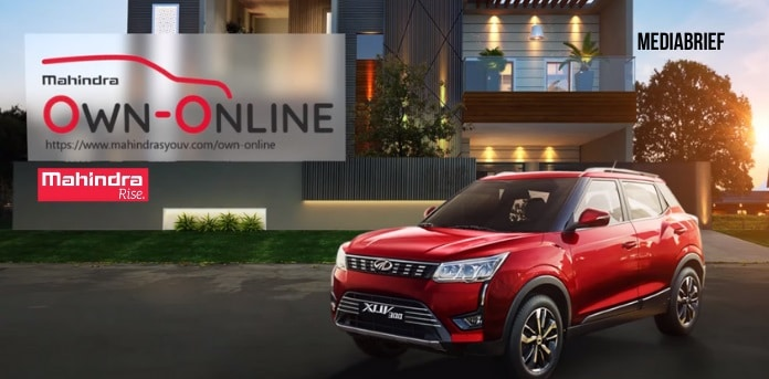 image-mahindra-own-online-launched for online auto retail-MediaBrief