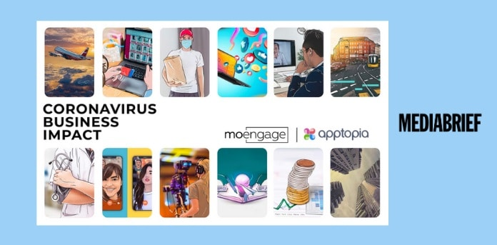 image - main- media and entertainment MoEngage AppTopia study on Covid Impact MediaBrief