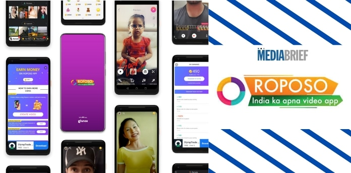 Image-After TikTok Ban, made-in-India Roposo is No.1 short-video app-MediaBrief.jpg