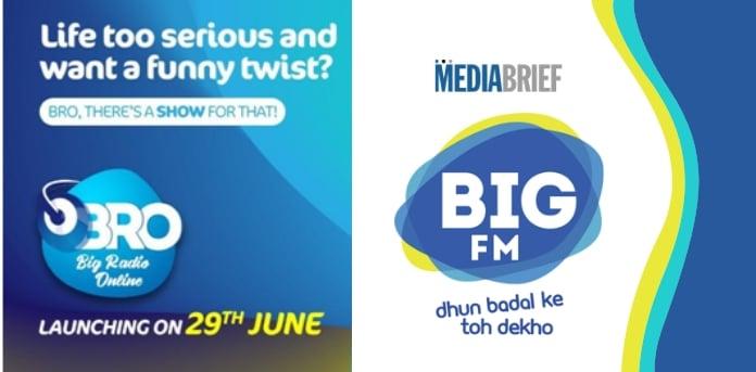 BIG FM forays into the Web Radio space, introduces BRO - BIG Radio Online