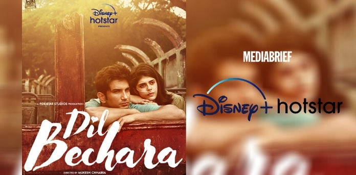 Image-Disney+ Hotstar celebrates the legacy of Sushant Singh Rajput with Dil Bechara-MediaBrief.jpg
