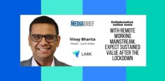 image-Vinay Bhartia of Lark says Online Tools will deliver greater value after lockdown - MediaBrief