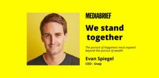 image-We Stand Together memo by Evan Spiegel - CEO -Snap - MediaBrief
